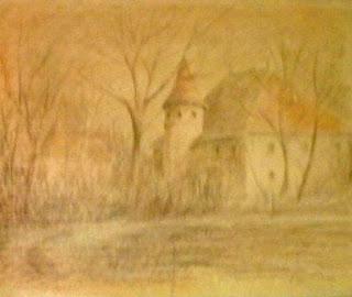 Dessin crayon de Pierre-Marie Dutel