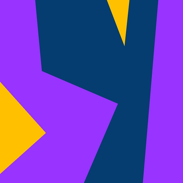 Tableau abstrait géometrique