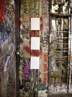 Artiste célèbre, Tacheles, Berlin