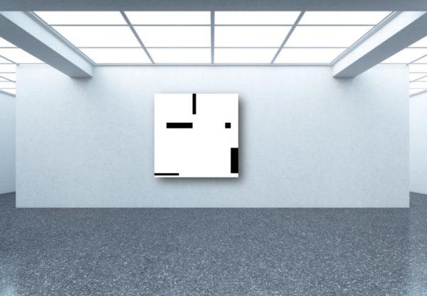 Exposition de l'oeuvre dans la galerie d'art virtuelle