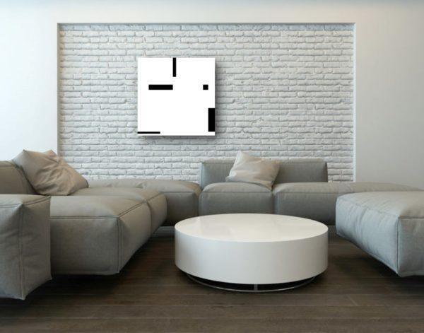 illustration du tableau en situation dans un intérieur