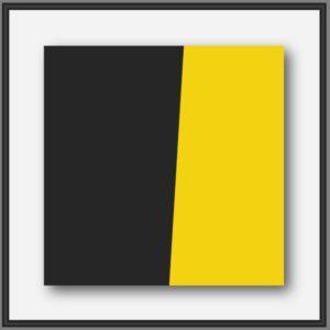 Peinture abstraite géométrique du peintre contemporain Pierre-Marie Dutel