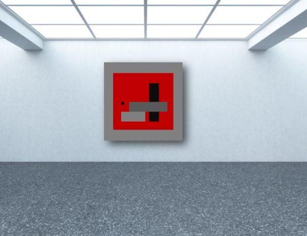 Oeuvre du peintre Pierre Marie Dutel exposition en galerie d'art virtuelle