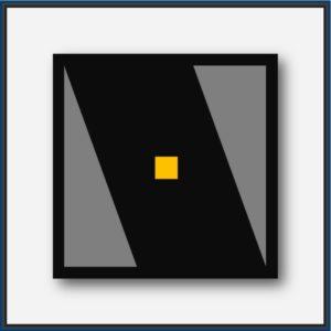 Abstraction géométrique du mouvement Art Atomique Art Géométrique