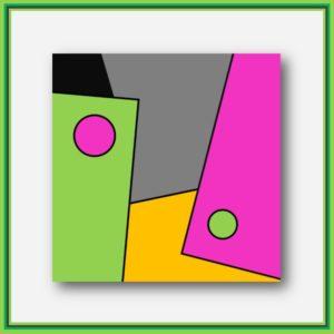Peinture digitale Tokyo Ginza de l'artiste français Pierre-Marie Dutel