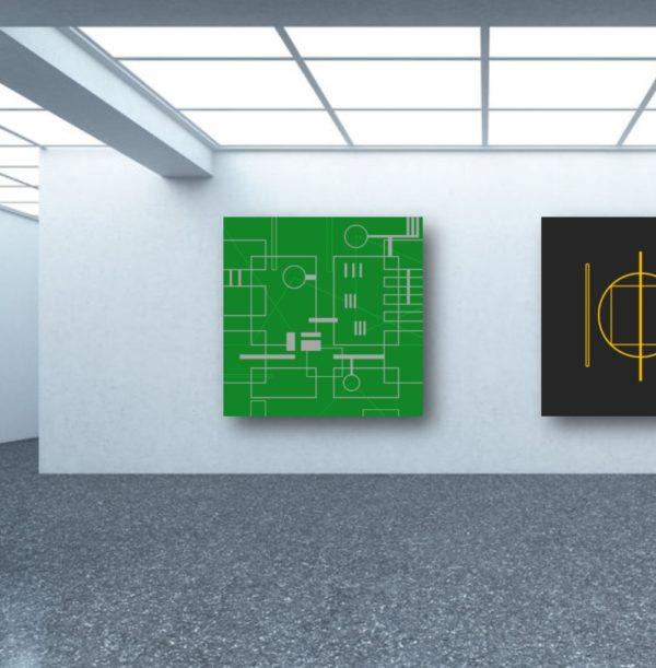 Galerie d'Art virtuelle quartier Akihabara de Tokyo