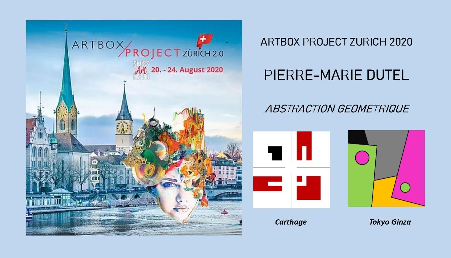 Carton présentation expo Zurich
