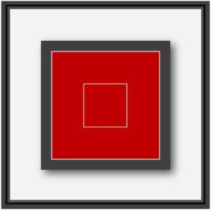 Oeuvre numérique forme géométrique de l'artiste français Pierre-Marie Dutel
