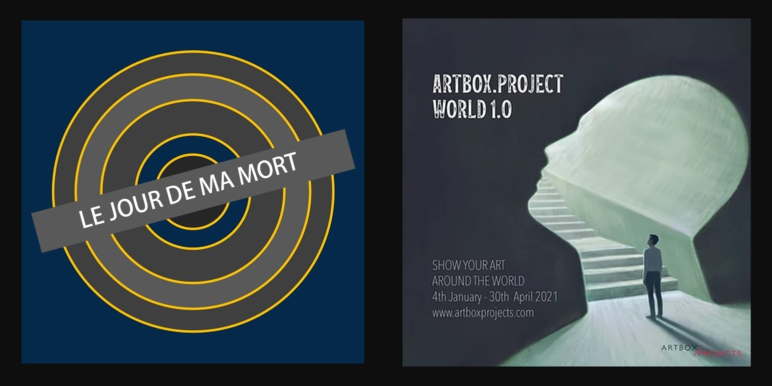affiche exposition artbox project world 1.0