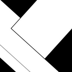Oeuvre de l'artiste Pierre-Marie Dutel reconnu pour ses abstractions géométriques.