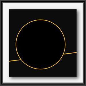 Pierre-Marie Dutel artiste français spécialiste des abstractions géométriques rend hommage à la mission Mars 2020